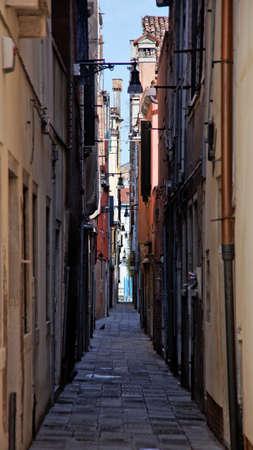 italien: Szene aus dem ber�hmten Venedig in Italien, Europa
