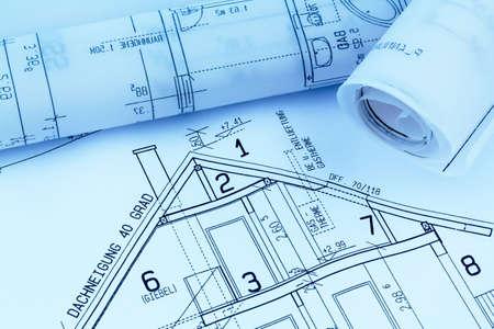 single familiy: proyecto a un arquitecto s para la construcci�n eiones nueva foto simb�lica Casa de la financiaci�n y la planificaci�n de un nuevo hogar