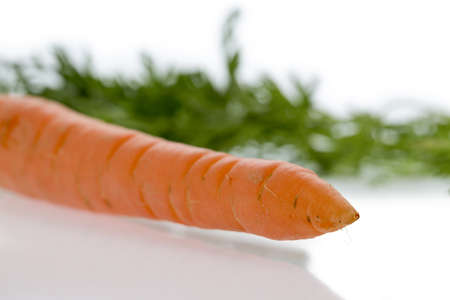 organically grown carrots  fresh fruit and vegetables are always healthy  photo icon for healthy diet Stock Photo - 19270742