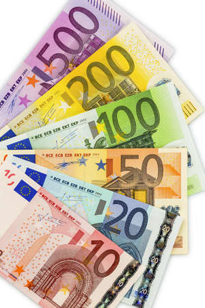 banconote euro: molte banconote in euro
