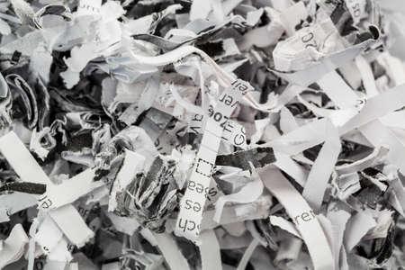 documentation: paper pulp, symbolic photo for data destruction, documentation and legacy Stock Photo