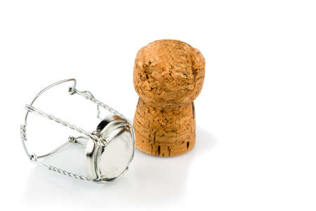 solemnity: clasp and champagne corks
