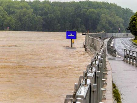 flood protection embankment Stock Photo - 20771370