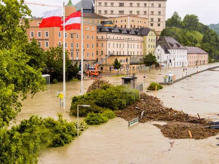 FLOODING: overflows flood in Austria