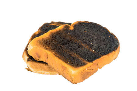 conceptually: burnt toasts