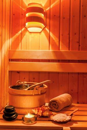 therapie: inside the sauna