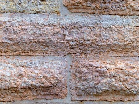 statics: masonry wall Stock Photo