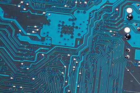 edv: close-up di un circuito di un calcolatore