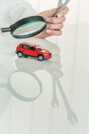 car retailer: car is checked by a doctor  costs for maintenance and repair
