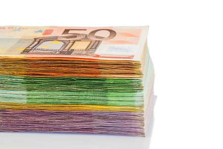 assessment system: euro bills