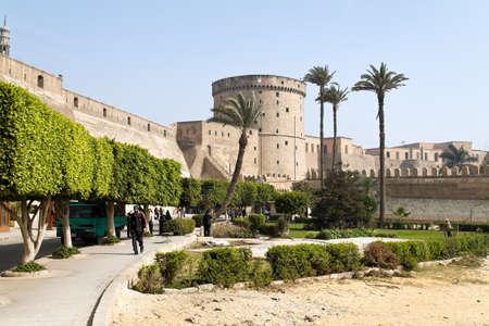 citadel: egypt, cairo, citadel Editorial