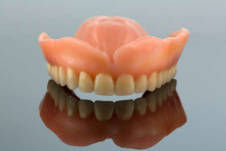 teeth, symbol photo for dentures, diagnosis, and co-payment photo