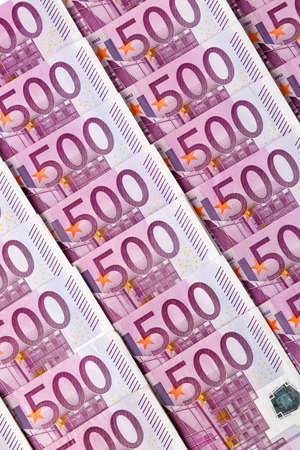 adjacent: many euro banknotes t are adjacent. symbol photo for r wealth and investment
