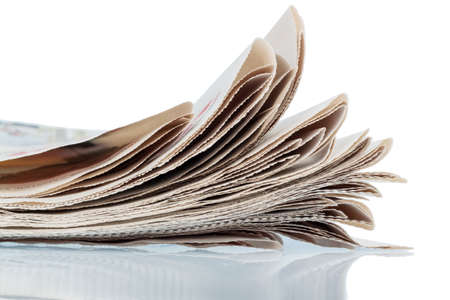 print media: various magazines, symbol photo for news, print media and diversity of opinion