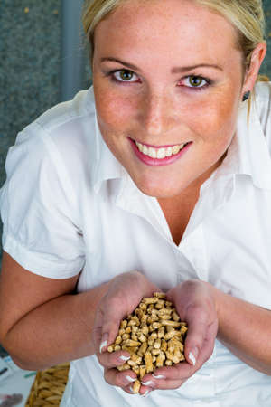 save heating costs: alternative energy for heating  heating with pellets already the environment