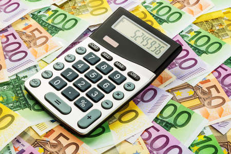 mathematically: stethoscope and euro bills