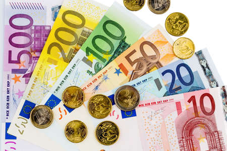 assessment system: euro banknotes and coins
