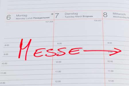 entered: a date is entered on a calendar: fair