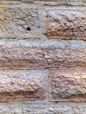 statics: masonry at a town house in vienna, symbol photo for background, architecture, stability Stock Photo