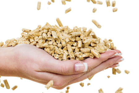 save heating costs: alternative energy for heating. heating with pellets already the environment.
