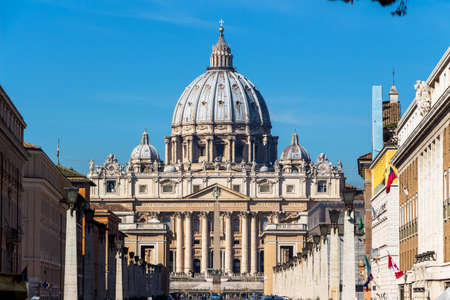 peters: italy, rome, st. peters basilica Stock Photo