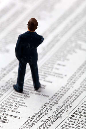 speculate: a small figure and the prices of shares in a newspaper. make money in the stock market. gains and losses in stock trading.