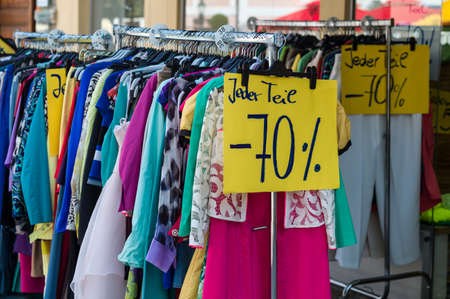 hunters: in a shop the sale has already begun. good for bargain hunters.