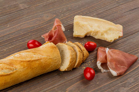 arouse: a wake-up from fresh white bread. food from the bakery