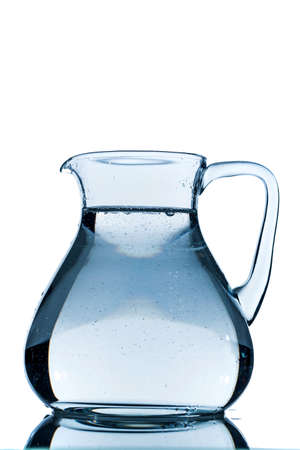 consumables: water in a carafe, symbolic photo for drinking water, wealth, supplies and consumables Stock Photo