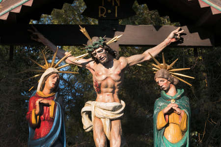 the crucifixion on friday before easter of jesus christ
