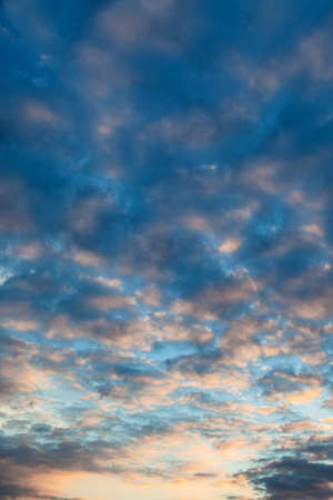 transcendence: a cloud atmosphere in the evening sky. suitable for backgrounds.
