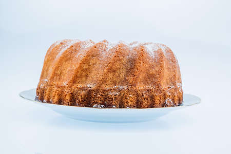 to tend: a marble cake for dessert. delicious sweets tend to have a lot of calories.