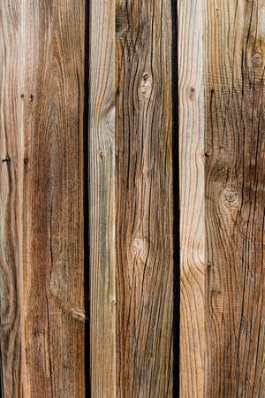 an old wooden wall of a barn. ideal for background Stock Photo