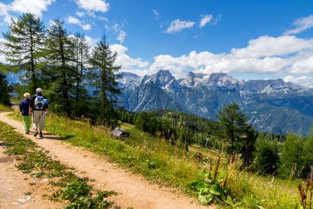 wander: a lovely place to wander the mountains around hinterstoder in upper austria, austria