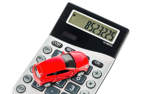 upkeep: a car is on a calculator. cost of gasoline, wear and insurance. car costs are not paid by commuter tax.
