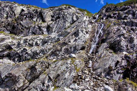 rockfall: rocky landscape Stock Photo