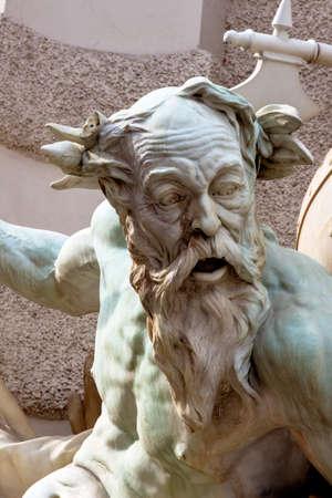 neptuno: Austria, Viena, Hofburg, también. el poder del mar. se completó en 1895. Rudolf weyr.