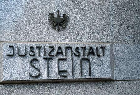 penal institution: the prison for prisoners, lower austria, austria Stock Photo
