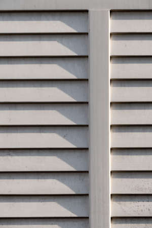 ventilate: shutter up, symbol of privacy, shading, background Stock Photo