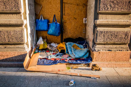 hartz 4: Hungary, budapest. home of a homeless