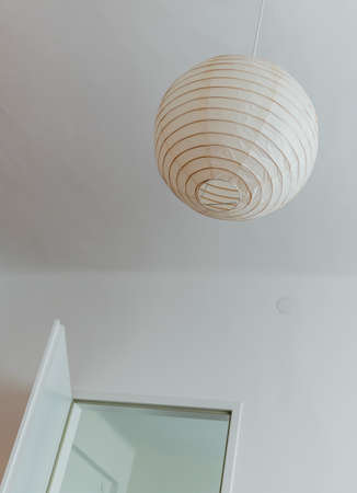energy needs: lamp in the bedroom, a symbol of decoration, simplicity, lighting