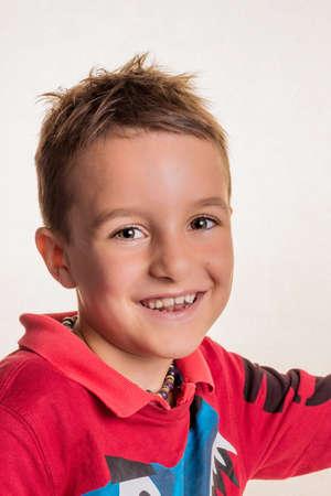 vivre: portrait of a young boy Stock Photo