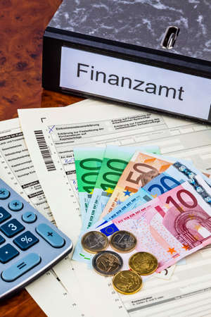 repayment: a german tax return for income tax is required.