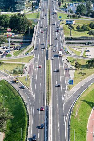 bratislava in de Slowaakse Republiek tot de Europese Unie. Stadtautobahn