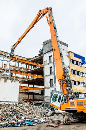 demolished: One older office building will be demolished to make way for a new building