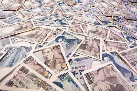 seem: Japanese yen bills currency of japan