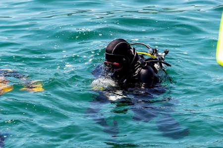 diving save: Switzerland, zurich, rescue diver