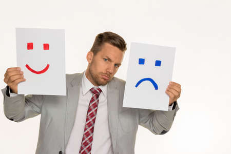 vivre: a manager or entrepreneur can not decide if he should laugh or cry
