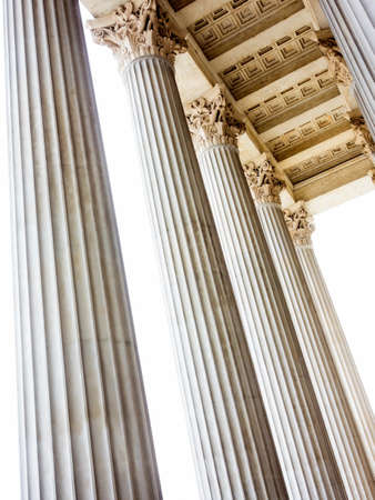 stability: columns at the parliament in vienna, symbolfoto for architecture, stability, history