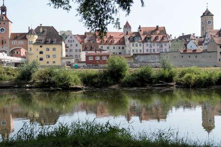 regensburg: germany, bavaria, regensburg, danube